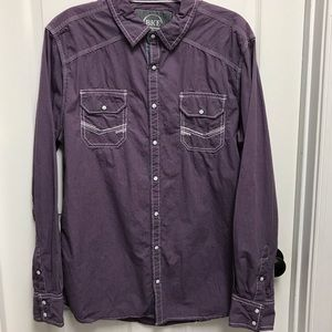 BKE Tailored fit button down shirt size XL